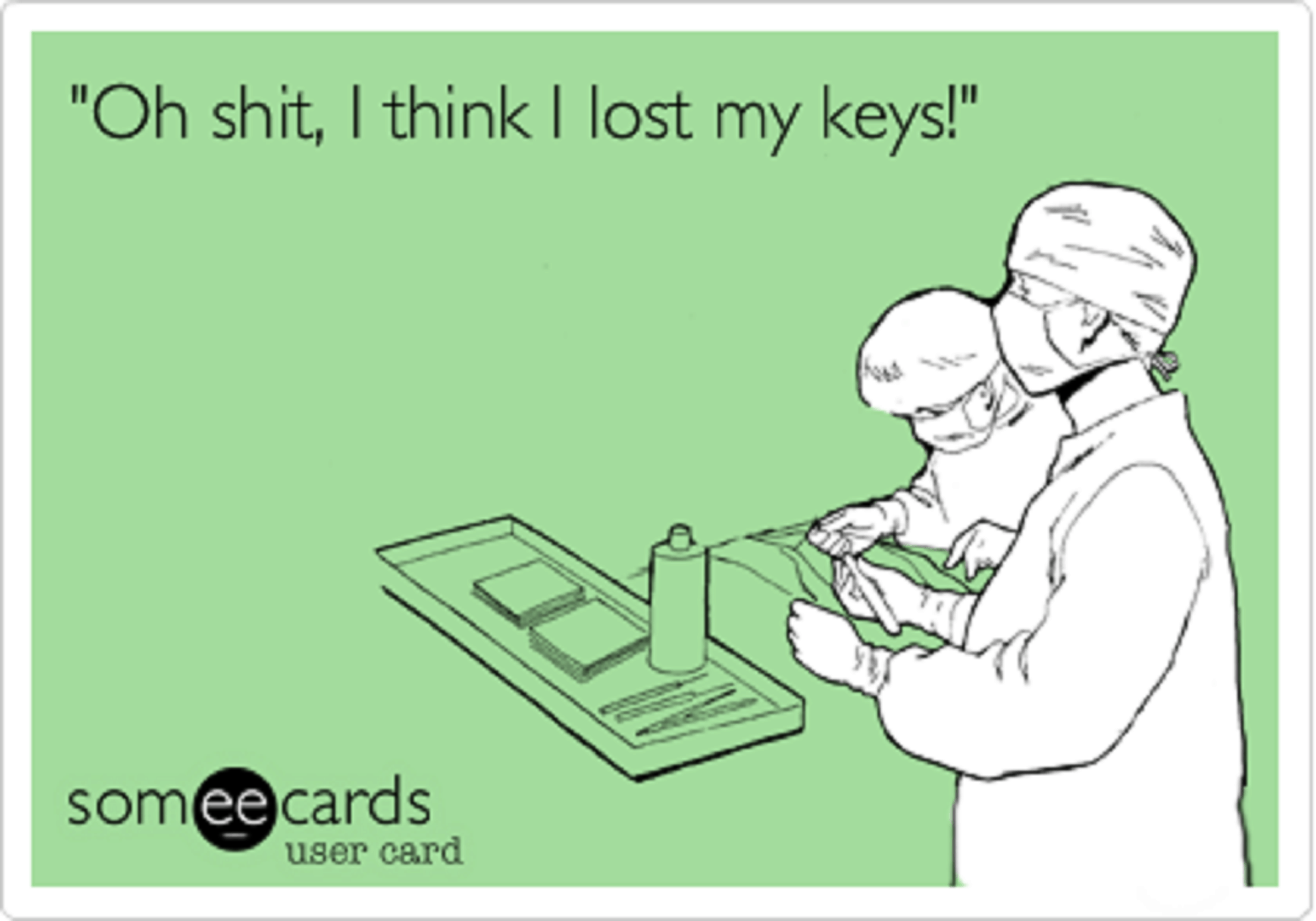 What if I lost my keys